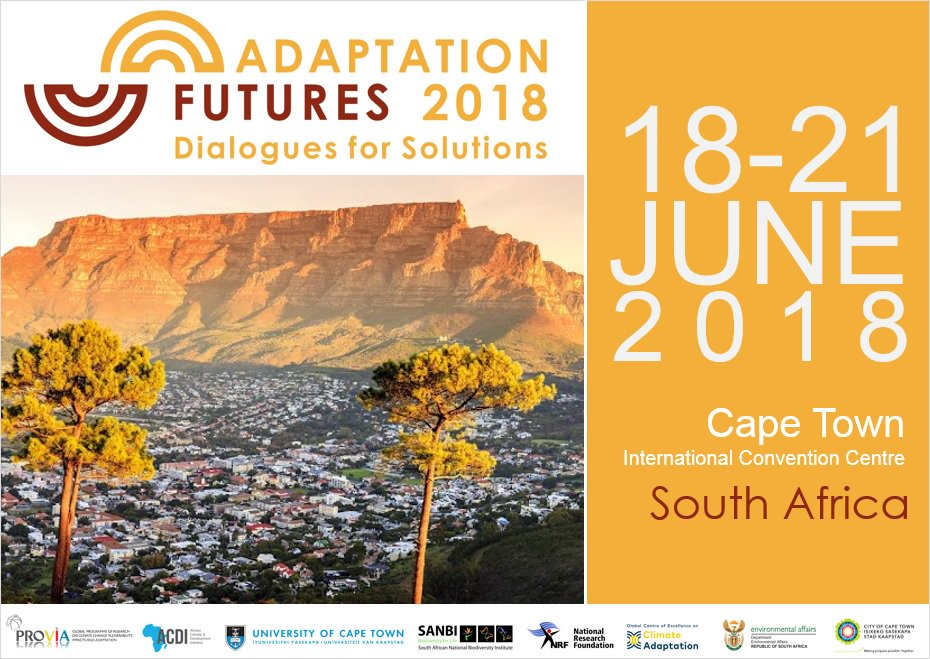 Adaptation Futures is the world's premier conference on climate change adaptation. We invite you to join over 1000 scientists, practitioners, business leaders and policymakers from around the world to connect, learn and inspire.